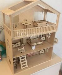 Кукольный Домик Балкон