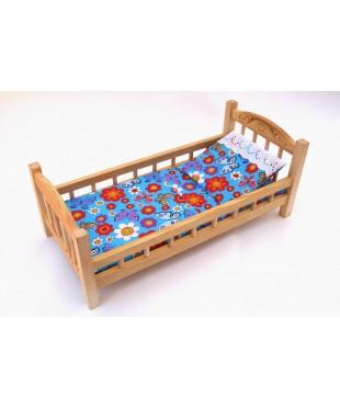 Кукольная кроватка из дерева