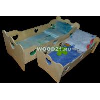 Кроватка с бельем